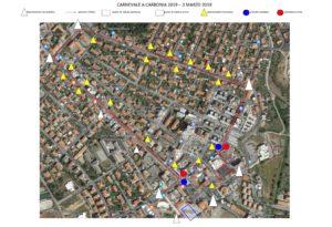 Domenica 3 marzo verranno chiuse al traffico le strade di Carbonia attraversate dalla sfilata del Carnevale.