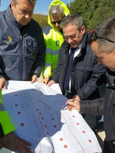 Il prossimo mese partiranno i lavori per asfaltare le strade complanari che costeggiano la Sassari-Olbia, all'altezza di Enas.