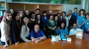 Le giovanissime del Rotaract club Sassari hanno donato due tiralatte alla Neonatologia e terapia intensiva dell'Aou.