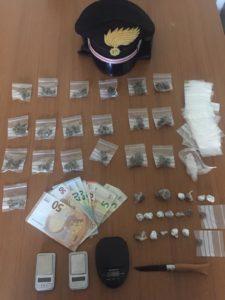 """Ieri mattina i carabinieri della stazione di Pirri hanno arrestato un 23enne brasiliano residente a Cagliari, per """"traffico di sostanze stupefacenti""""."""