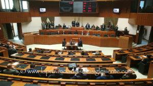 Il Consiglio regionale è convocato alle 10.00 di martedì 16 aprile.