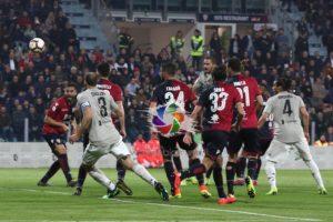 Una Juventus troppo forte, nonostante le numerosissime assenze, per il Cagliari di Rolando Maran.