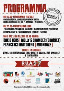 """Giovedì 25 aprile, per la Festa della Liberazione, nel Parco di Villa Sulcis, a Carbonia, si terrà """"ieri Partigian* oggi Antifascist*""""."""