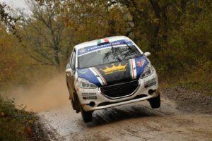 """Il 3 e 4 maggio i portacolori della Scuderia Michele Liceri e Salvatore Mendola (Peugeot 208 R2) prenderanno il via al """"26° Rally Adriatico""""."""