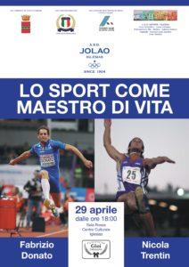 """La """"Sala Rossa"""" del Centro culturale di Iglesias, lunedì 29 aprile, ospiterà il seminario """"Lo Sport come Maestro di Vita""""."""