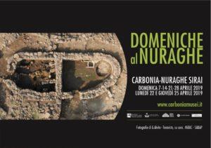 """Dopo il rinvio a causa del maltempo delle settimane scorse, domenica 21 aprile, giorno della Santa Pasqua, sarà la prima delle """"Domeniche al Nuraghe"""" Sirai."""
