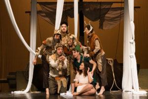 Domenica 7 aprile, al Teatro delle Saline di Cagliari si chiude la rassegna di Famiglie a teatro.