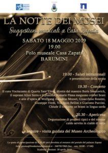 """Il 18 maggio, sbarca a Barumini, """"La Notte dei Musei""""."""