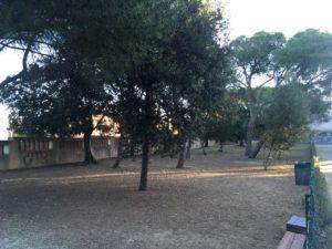 E' stata rinviata, a causa della pioggia, a Carbonia, l'inaugurazione dell'area sgambamento cani di Villa Sulcis.