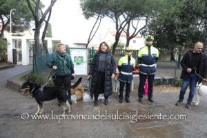 E' stata inaugurata questa mattina, nell'area parco di Villa Sulcis, a Carbonia, la nuova area sgambamento cani.
