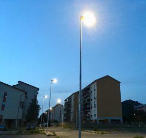 Il comune di Carbonia potenzia la dotazione di impianti di illuminazione pubblica in città.