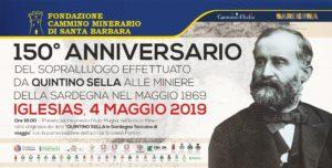 Una serie di eventi di carattere storico culturale e di valorizzazione turistica del patrimonio minerario ricorderanno Quintino Sella da domani 4 al prossimo 22 maggio.