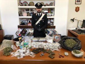 Ieri i carabinieri della stazione di Cagliari – San Bartolomeo, hanno arrestato nella flagranza del reato di detenzione illecita di sostanza stupefacente, un pregiudicato 33enne.