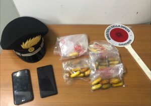 Questa mattina i carabinieri della Compagnia di Iglesias hanno arrestato in flagranza di reato un nigeriano 29enne con l'accusa di detenzione di stupefacenti ai fini di spaccio.