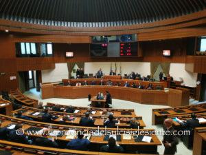 Il Consiglio regionale ha approvato le nuove disposizioni in materia di status di consigliere regionale.