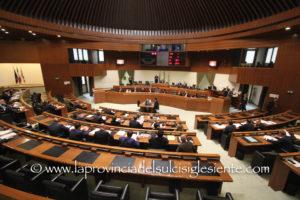 Il Consiglio regionale si riunirà martedì 9 luglio, alle 16.00.