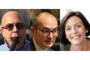 """Sono tre i candidati alla carica di sindaco del comune di Cagliari per le Amministrative del 16 giugno. Il TAR ha riammesso la lista """"Verdes"""" di Angelo Cremone."""