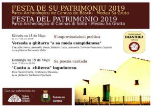 Per la Festa del Patrimonio, i cantori sardi si esibiranno nel Parco archeologico di Cannas di Sotto.