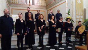 Per il Festival Echi lontani, domenica 5 maggio, a Cagliari, concerto dell'Ensemble vocale Ricercare.