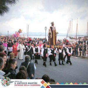 Sono iniziati oggi gli eventi della 660ª Festa di Sant'Antioco Martire.