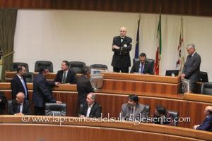 Hanno prestato giuramento, in Consiglio regionale, i sette nuovi assessori della Giunta Solinas.
