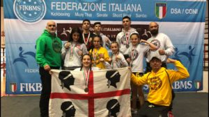 Quattro ori per il Tarantini Fight Club ai campionati italiani diMuay Thai.