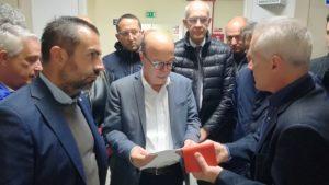 L'assessore regionale della Sanità ha partecipato ad una giornata di sopralluoghi nei presidi sanitari del Sassarese.