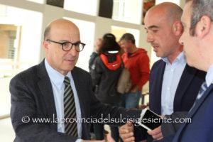 L'assessore regionale della Sanità, Mario Nieddu, ha visitato stamane gli ospedali CTO di Iglesias e Sirai di Carbonia.
