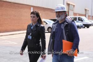 La neo assessore regionale dell'Industria, Anita Pili, ha incontrato stamane la Rappresentanza Sindacale Unitaria dell'Eurallumina, nello stabilimento di Portovesme.