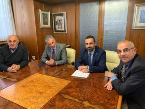 I Riformatori sardi hanno incontrato il presidente del Consiglio regionale: «Dobbiamo combattere uniti la battaglia più grande, quella sull'insularità».
