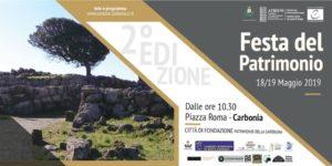 """Sabato 18 e domenica 19 maggio è in programma a Carbonia la seconda edizione della """"Festa del Patrimonio""""."""