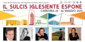 """Il Consorzio Fieristico Sulcitano organizza la XIII edizione de """"Il Sulcis Iglesiente espone""""fiera dell'Artigianato artistico, dell'Agroalimentare e del turismo che si terrà a Carbonia il 25 e 26 maggio."""