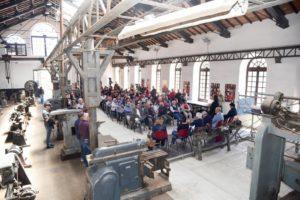 """Con il progetto di Alternanza Scuola Lavoro """"Rinasce Pozzo Sella"""" è stata rigenerata la struttura esterna del Pozzo Sella di Monteponi, ritornata fruibile."""