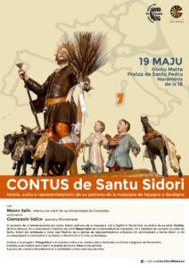 In occasione delle celebrazioni per Sant'Isidoro, patrono dei contadini, il 19 maggio si terrà a Nuraminis un incontro della serie Contus organizzato dall'associazione Khorakhané.