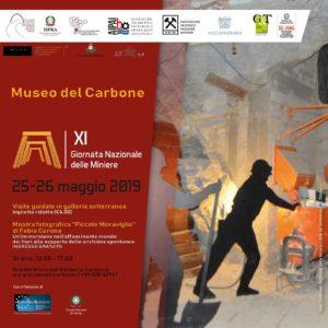 Sabato 25 e domenica 26 maggio il Museo del Carbone aderirà all'XI Giornata nazionale delle Miniere.
