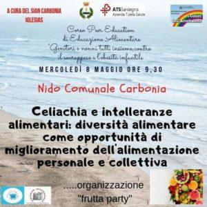 Domani, mercoledì 8 maggio, nell'asilo comunale di via Manzoni, a Carbonia, si terrà un incontro sull'educazione alimentare destinato alle famiglie.