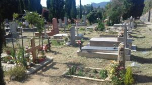 Sono in corso le operazioni di esumazione ordinaria presso il cimitero di Carbonia nei campi decennali 3, 13, 14, 18 e 19.