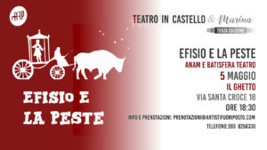 """Per la rassegna """"Teatro in Castello e Marina"""", vanno in scena, a Cagliari, i burattini di Anam e Batisfera."""