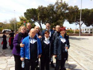 """Numerose associazioni sportive hanno partecipato stamane, a Carbonia, all'inaugurazione della """"Festa del Patrimonio""""."""