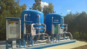 Da 2 anni, a Musei, acqua sempre potabile, grazie all'impianto di trattamento delle acque di sorgente.