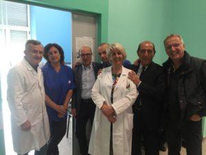 In occasione della Giornata del Sollievo, l'assessore regionale della Sanità Mario Nieddu ha visitato stamane l'ospedale Binaghi di Cagliari.