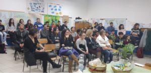 """Il 28 marzo scorso, presso l'Istituto Comprensivo """"V. Angius"""" di Portoscuso, si è tenuto un incontro formativo sul bullismo e sul cyberbullismo, in ricordo di Carolina Picchio."""