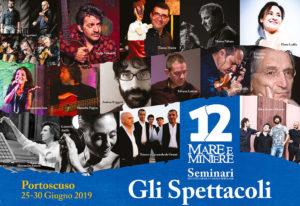 Damartedì 25 a domenica 30 giugno 2019, la 12ª edizione diMare e Miniereentrerà nel vivo con iSeminari di Canto, Musica e Danza Popolare.