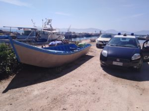 Nuovo sbarco di migranti, all'alba di oggi, a Porto Pino.
