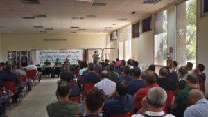 La Rsu Eurallumina rilancia la mobilitazione con un sit-in organizzato per venerdì 21 giugno, davanti all'assessorato regionale dell'Ambiente, a Cagliari.