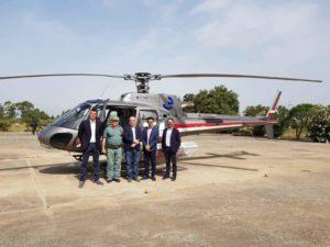 L'assessore regionale dell'Ambiente ha visitato l'Ispettorato forestale di Oristano.