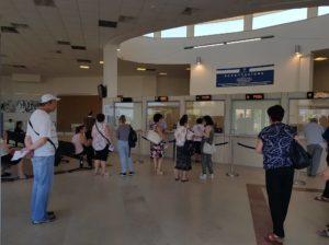 Grande nervosismo stamane e conseguente disagio presso la hall dell'ospedale Sirai di Carbonia, agli sportelli del CUP, per mancanza di refrigerazione…