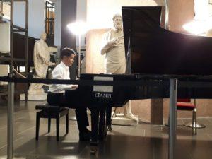 """Martedì, al Conservatorio di Cagliari, secondo appuntamento con """"Notturni di note"""", con Alice Cambuli e Filippo Piredda."""