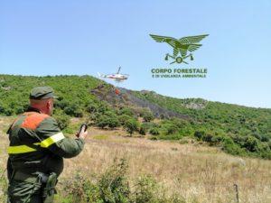 Tre incendi hanno richiesto oggi l'intervento dei mezzi aerei del Servizio regionale antincendio con il coordinamento del Corpo forestale.