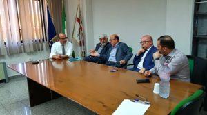Mario Nieddu (assessore della Sanità): «È stato un confronto aperto e costruttivo, l'occasione per fare il punto sull'emergenza che affligge l'ospedale di Lanusei».